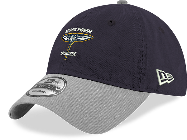 GA Swarm Cap - New Era NLL (Navy/Grey)