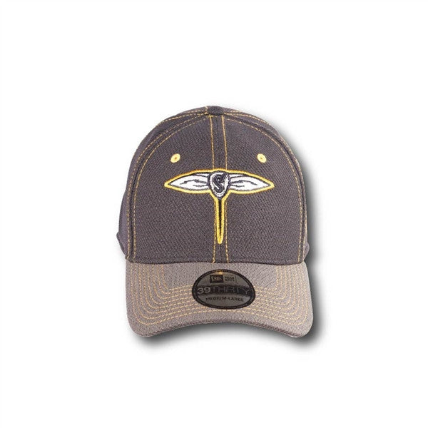 GA Swarm Cap - New Era Gold Stitched Flex Fit