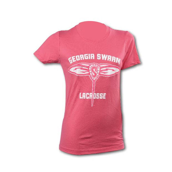 GA Swarm Ladies Pink Cotton Tee