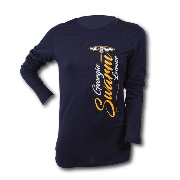 GA Swarm Ladies Vertical Logo Tee