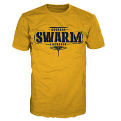 GA Swarm Ladies Gold Performance Tee
