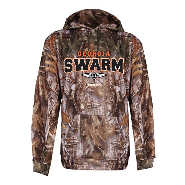 GA Swarm Outerwear - Tree Camo Performance Hoodie