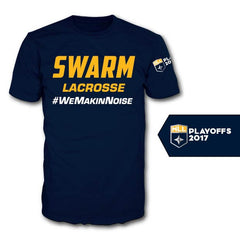 Georgia Swarm | Playoff T-Shirt | Takedown Lacrosse