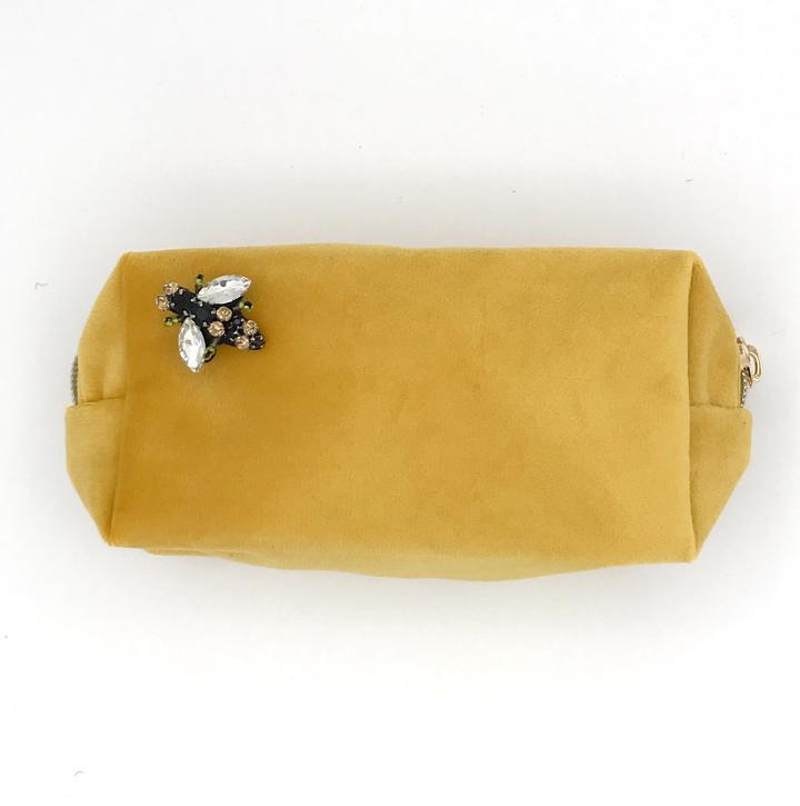 Velvet Make-Up Bag | Amber