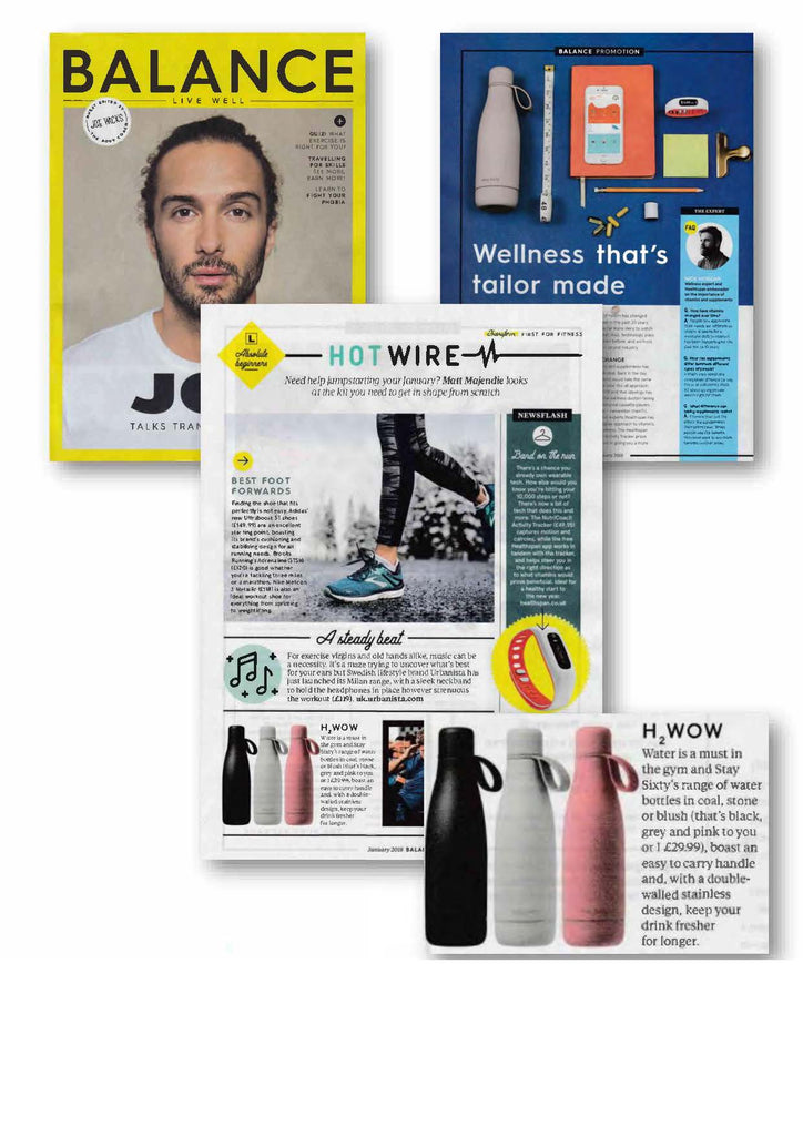 Stay Sixty®   Stainless Steel Water Bottle