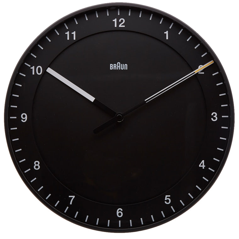 Braun 30cm Large Wall Clock // £45.