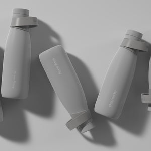 Eco-friendly Reusable Water Bottle in Grey