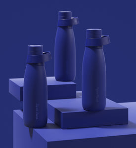 Insulated Stainless Steel Water Bottle in Blue from Stay Sixty®