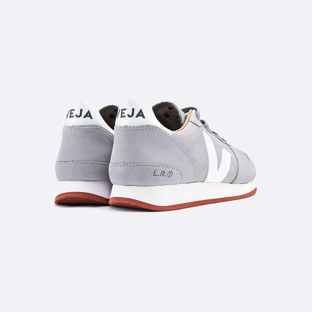 Veja Holiday Bastille Nubuck Oxford Grey White