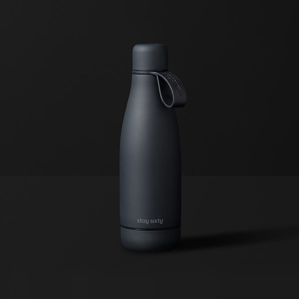 Stay Sixty® | Stainless Steel Water Bottle | Coal Edition