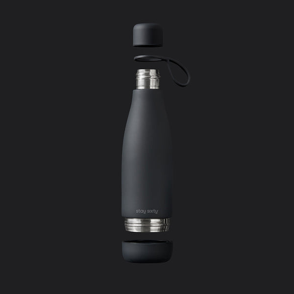 Stay Sixty® | Reusable Drink Bottle | Coal Edition
