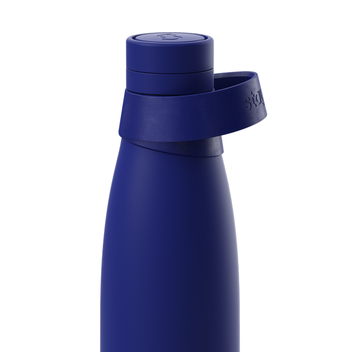 Stainless Steel Reusable Water Bottle in Blue from Stay Sixty