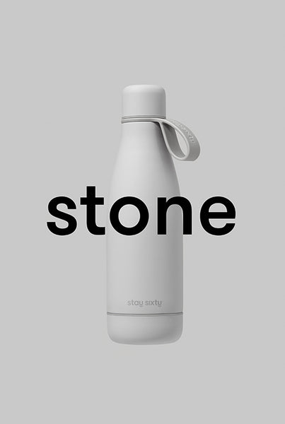 Stay Sixty® | Stainless Steel Water Bottles | Stone Edition