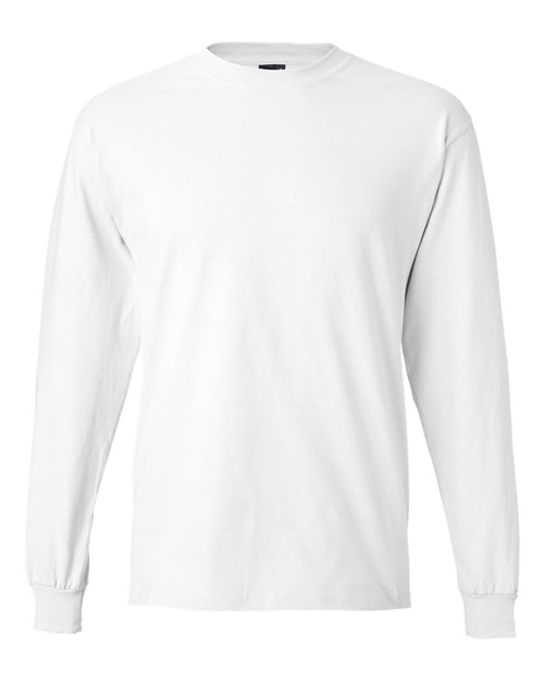 Beefy-T Long Sleeve T-Shirt (White)