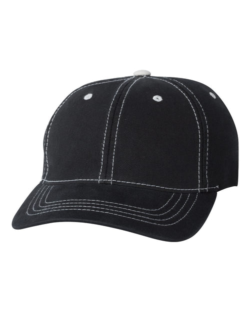 Contrast Color Stitched Cap
