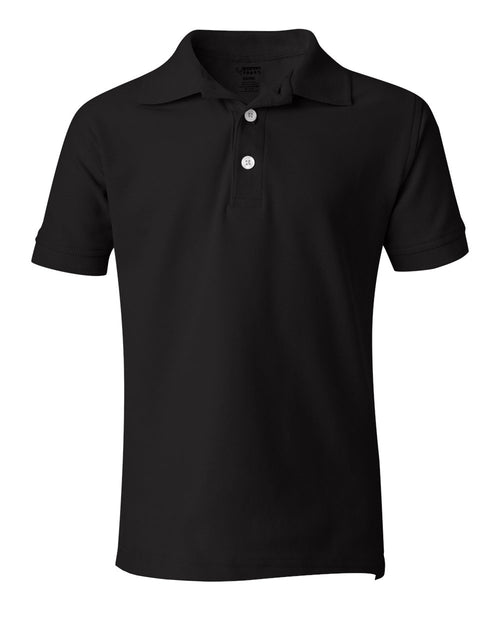 Boys' Short Sleeve Pique Polo