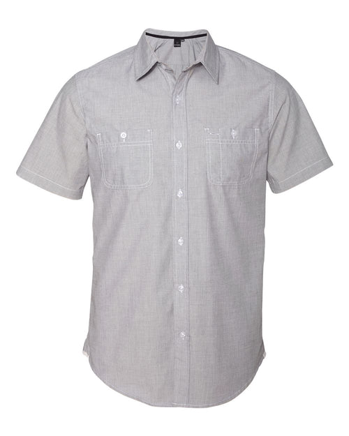 Mini-Check Short Sleeve Shirt