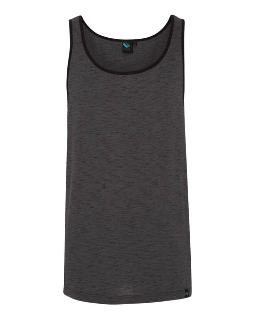 Injected Slub Tank Top