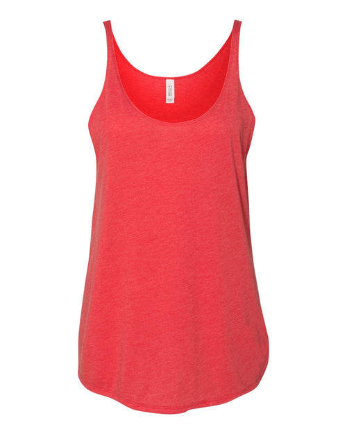 Women's Slouchy Tank (Red Triblend)