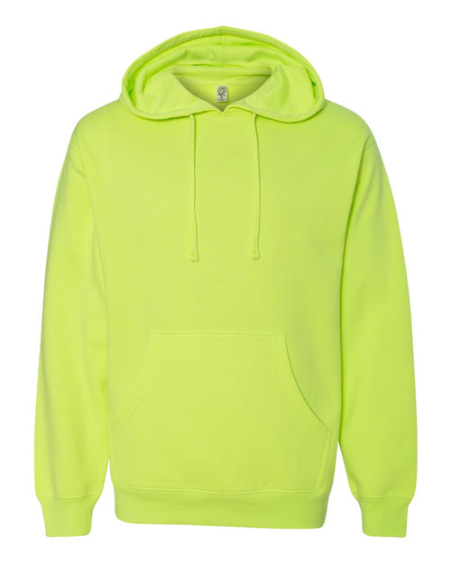 Midweight Hooded Pullover Sweatshirt (Safety Yellow)