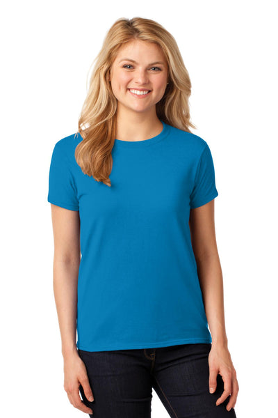 Gildan® Ladies Heavy Cotton™ 100% Cotton T-Shirt. 5000L