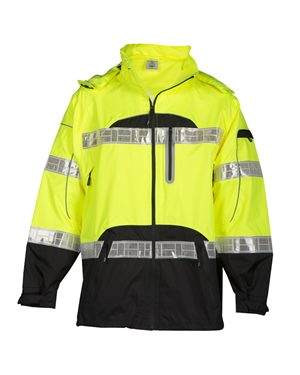 Premium Black Series Rainwear Jacket