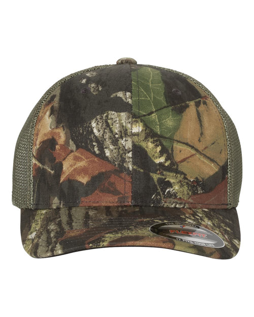 Mossy Oak Stretch Mesh Cap