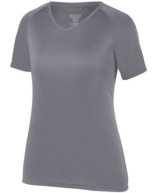 Women's Attain Wicking Shirt (Graphite)