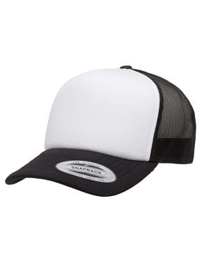 Foam Trucker Cap with Curved Visor