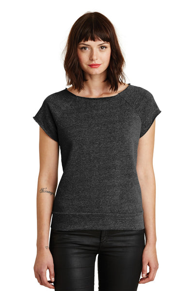 Alternative Women's Rehearsal Short Sleeve Pullover Sweatshirt. AA2823