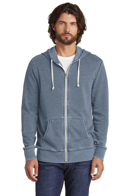 Alternative Burnout Laid-Back Zip Hoodie. AA8636