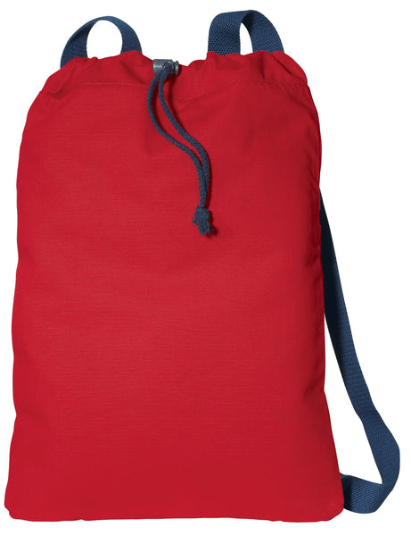 Port Authority® Canvas Cinch Pack. B119