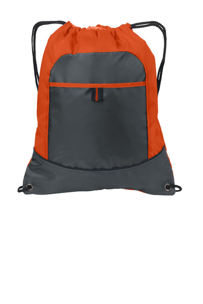 Port Authority® Pocket Cinch Pack. BG611