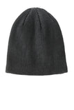 Port Authority® Rib Knit Slouch Beanie. C935
