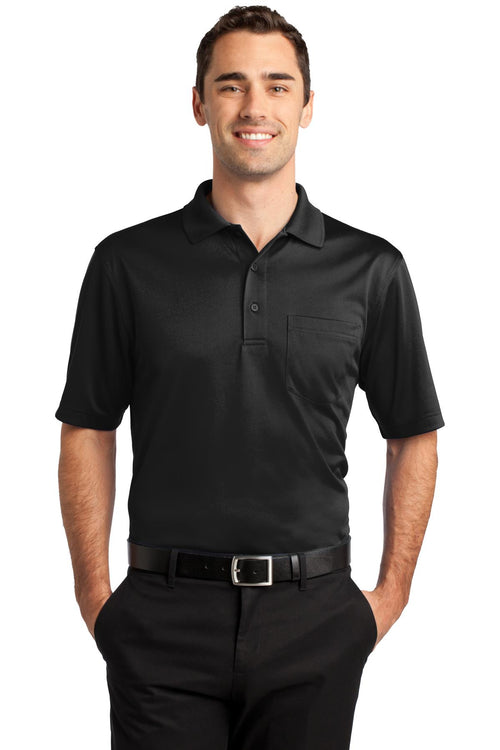 CornerStone® Select Snag-Proof Pocket Polo. CS412P