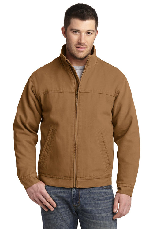 CornerStone® Washed Duck Cloth Flannel-Lined Work Jacket. CSJ40