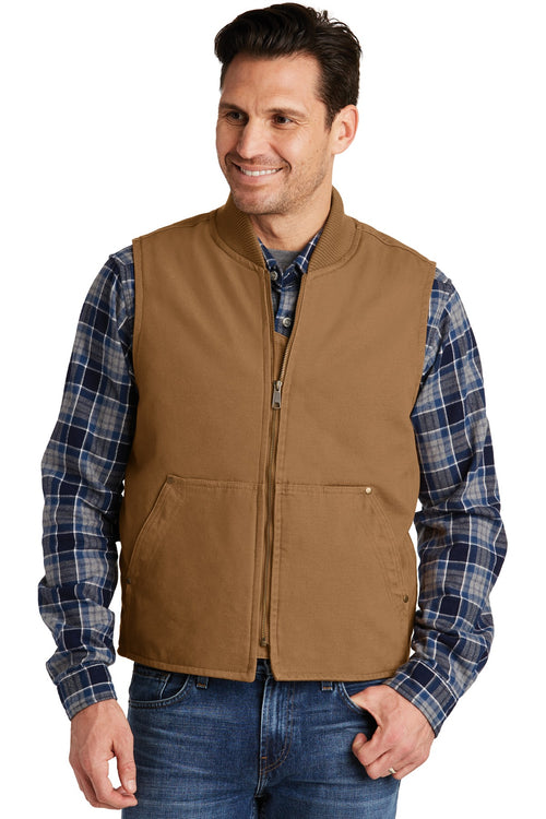 CornerStone® Washed Duck Cloth Vest. CSV40