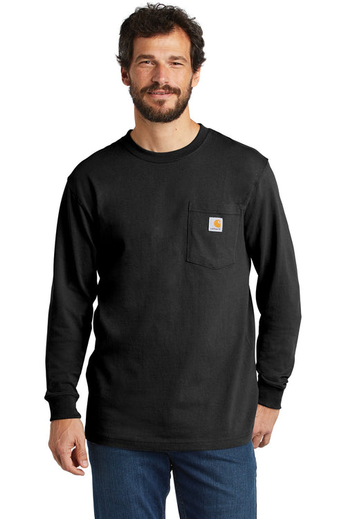 Carhartt ® Workwear Pocket Long Sleeve T-Shirt. CTK126