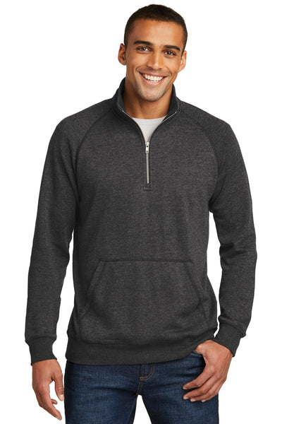 District Made® Mens Lightweight Fleece 1/4-Zip. DM392