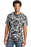 District Made® Mens Camo Perfect Weight® Crew Tee. DT104C