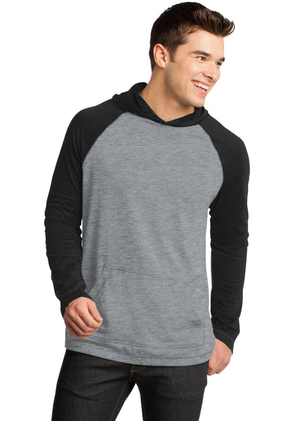 District® - Young Mens 50/50 Raglan Hoodie. DT128