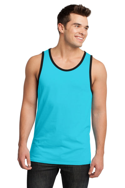 District® - Young Mens Cotton Ringer Tank DT1500