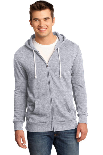 District® - Young Mens Core Fleece Full-Zip Hoodie DT190