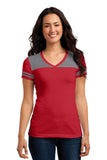 District® Juniors Varsity V-Neck Tee. DT264