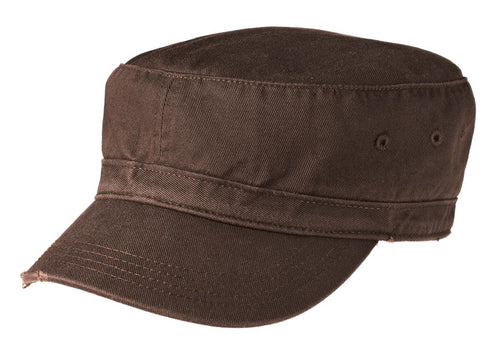 District® - Distressed Military Hat.  DT605