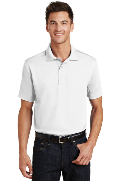 Port Authority® Poly-Charcoal Blend Pique Polo. K497