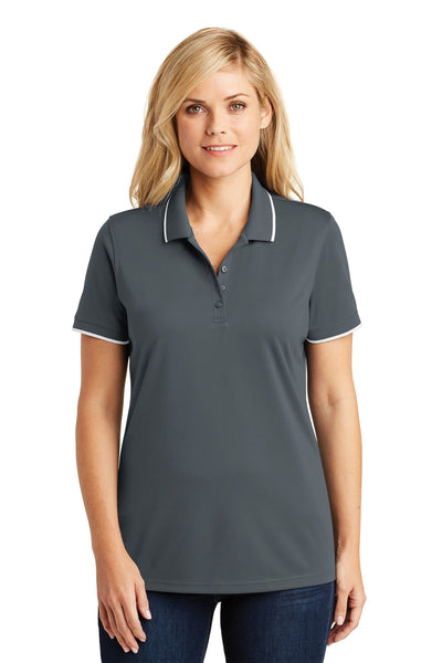 Port Authority® Ladies Dry Zone® UV Micro-Mesh Tipped Polo. LK111