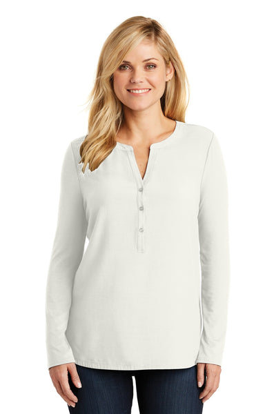 Port Authority® Ladies Concept Henley Tunic. LK5432