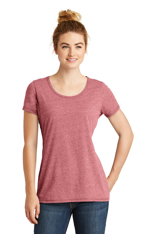 New Era ® Ladies Tri-Blend Performance Scoop Tee. LNEA130