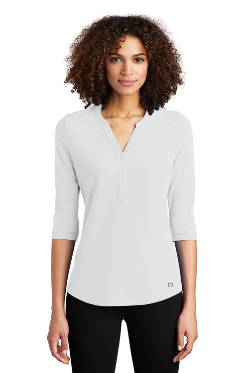 OGIO ® Ladies Jewel Henley LOG104